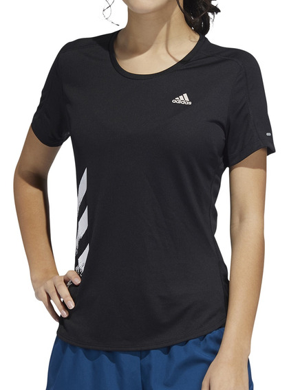 Remera adidas Running Run It Mujer Ng