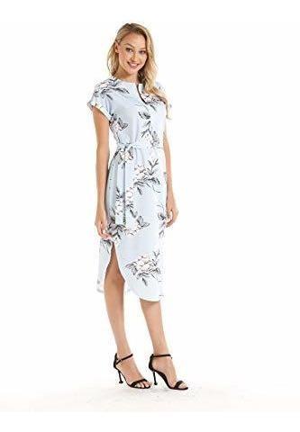 Yixmei Vestido Sueter Geometrico Casual Para Dama