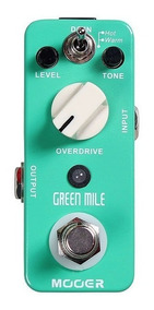 Pedal Mooer Green Mile Overdrive True Bypass Guitarra + Nfe