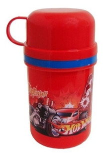 Termo Tapa Taza Hot Wheels - Argos -