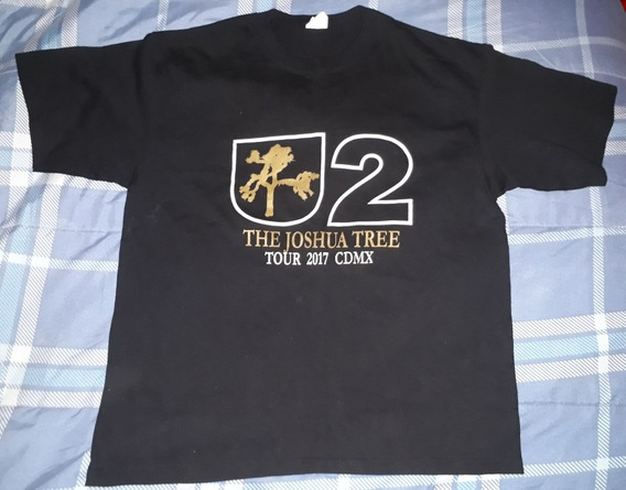 Playera U2 The Joshua Tree Tour Cdmx 2017