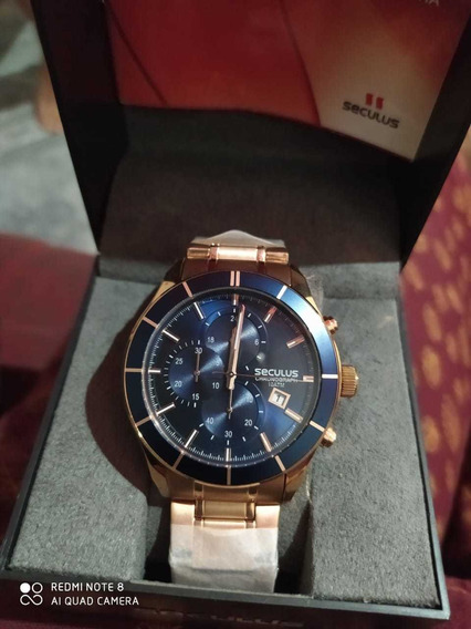 Relógio Seculus Novo Com Garantia/ Comprei Por 500.