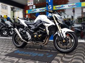 Suzuki Gsr750a 2015 Branca Com Vários Acessórios