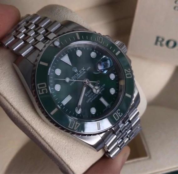 Relógio Rolex Submariner, Automático,safira ,acab Suíço