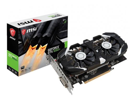 Placa De Video Nvidia Msi Geforce Gtx 1050 Ti Oc 4gb Dual