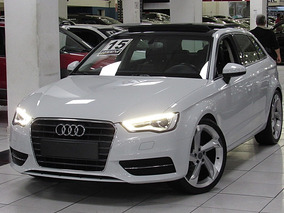 Audi A3 1.4 Tfsi S-tronic 2015 Branco Teto Solar Top