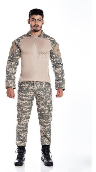 Farda Tática Militar Reforçadacamuflada Calça+ Combat Foxboy