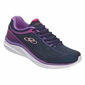 Tênis Olympikus Actual W - Marinho/violeta 422