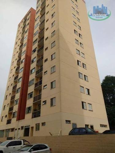 Apartamento Com 2 Dormitórios À Venda, 56 M² Por R$ 260.000 - Ap0786