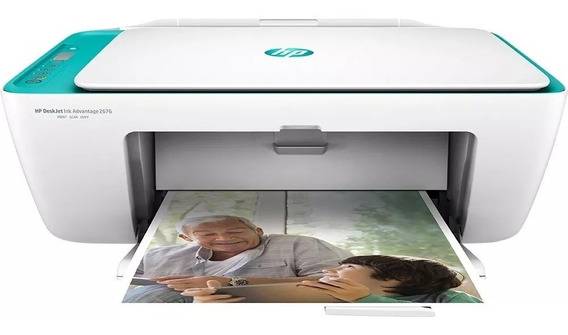 Multifuncional Hp Deskjet Ink Advantage 2676 Aio Wi-fi