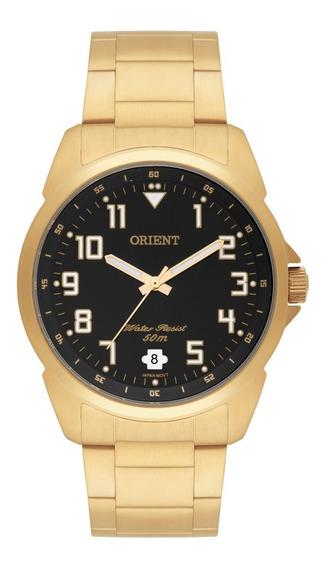 Relógio Orient Masculino Mgss1103a P2kx Dourado Analógico