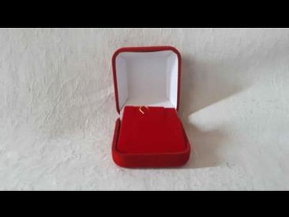 Porta Joia Caixa Pequena Cor Vermelho