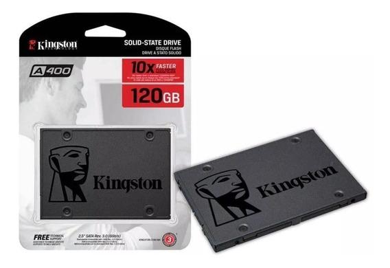 Ssd Kingston 120gb Hd Ssdnow A400 Sata 3 6gb/s 500mb/s