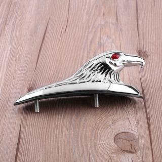 Cromo Cabeza Águila Diseño Forma Atv Frente Defensa Marco