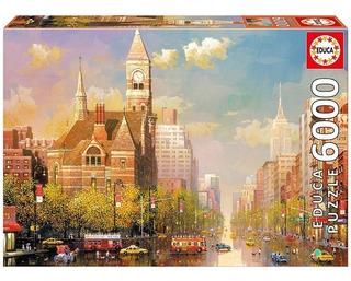 Puzzle New York Afternoon - 6000 Piezas Educa
