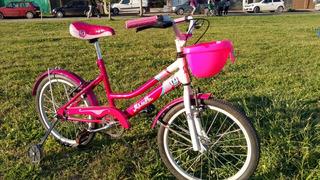Bicicleta Musetta Rodado 20 Niña
