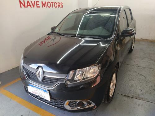 Renault Sandero Privilege Full 1.6n Negro 2016 Aa693