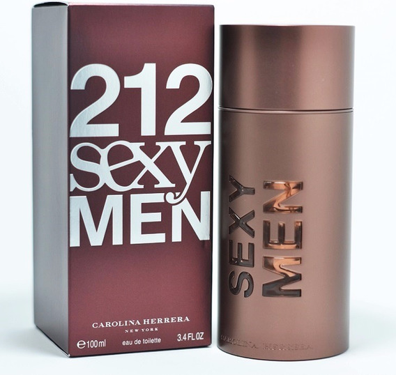 Perfume 212 Sexy Men 100ml Carolina Herrera Original Lacrado