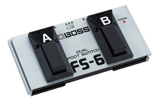 Pedal Footswitch Boss Fs6 Dual P/ Guitarra Efectos
