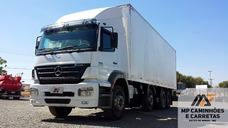 Caminhão Mercedes-benz Mb 2533 Baú 2010 8x2