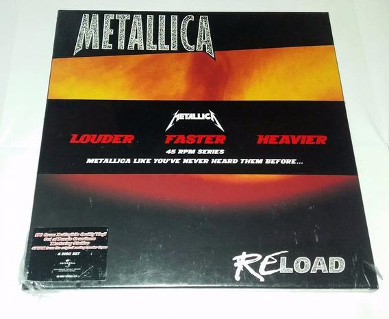 Metallica - Reload Boxset 4 Lp (europeu) Lacrado