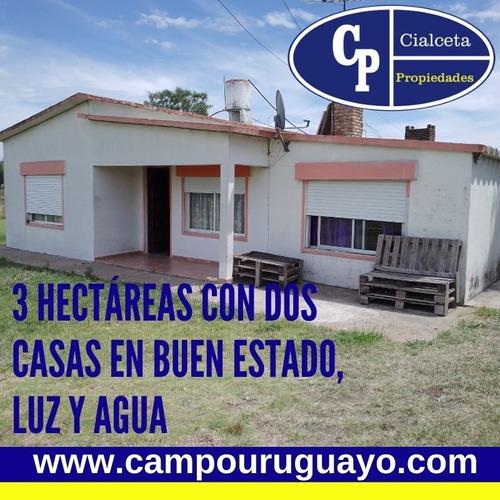 Chacra De 3 Hectáreas Con Dos Casas