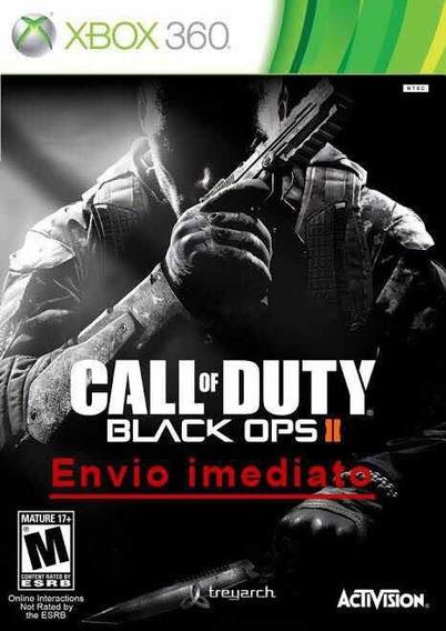 Call Of Duty - Black Ops 2 Xbox 360 Mídia Digital