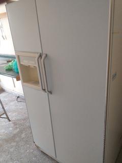 Refrigerador G.e. De 25 Pies 2 Puertas Con Fábrica De Hielo