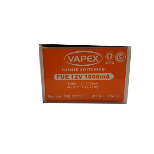 Fuente Transformador Vapex 12v 1500ma
