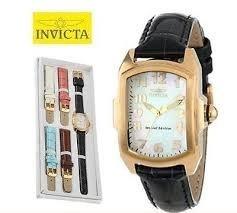 Relógio Invicta Feminino 13834 Lupah Ouro 18k