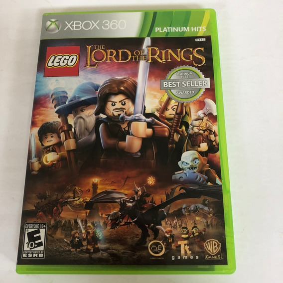 Lego The Lord Of The Rings Xbox 360 Usado