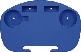 Kit Com 2 Mesa Portátil Azul Para Cadeira De Praia Mor.