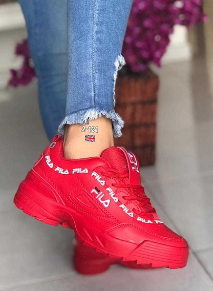 Zapatos Fila Colombianos Tennis Damas