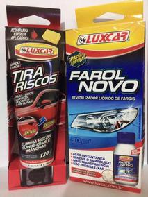 Kit Limpa Farol Novo+tira Riscos E Manchas - Original Luxcar