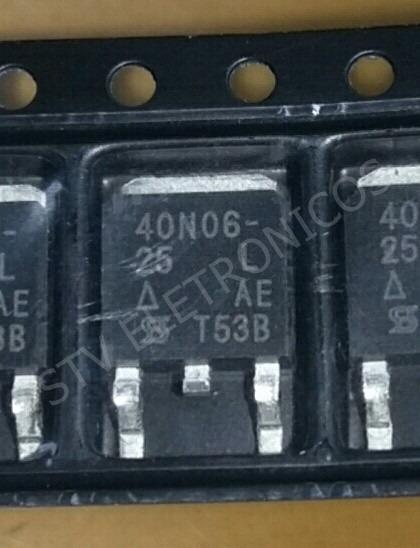 3 Peças Transistor 40n06-25l Sud40n06-25l To-252 - Original