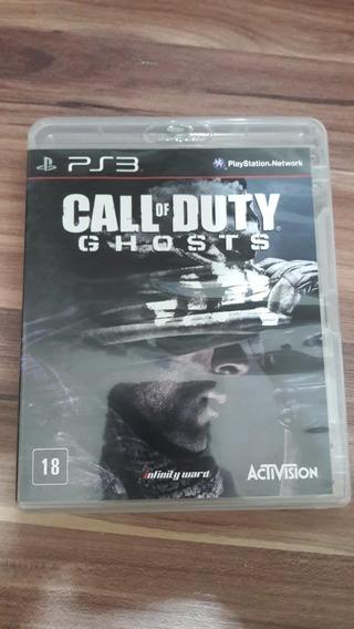 Call Of Duty Ghosts Ps3 Mídia Física