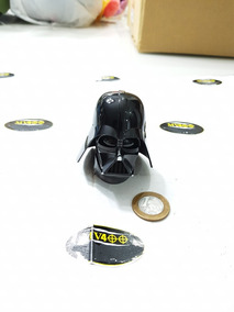 Cabeça Darth Vader Star Wars Escala 1/6 Hot Toys Perfeita