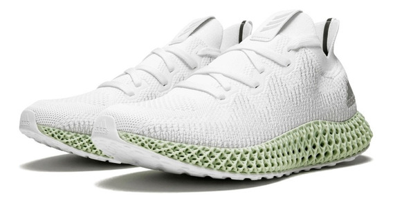 Tenis adidas Alphaedge 4d White 40.5 42 Ow Futurecraft Yeezy
