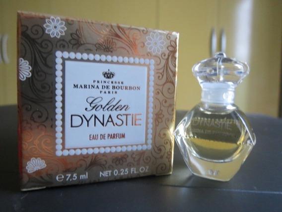 Golden Dynastie Marina Bourbon Miniatura Perfume Import 7,5m