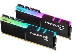 Memória G.skill Tridentz Ddr4 Rgb 32gb (16gbx2) 3200 Mhz Amd