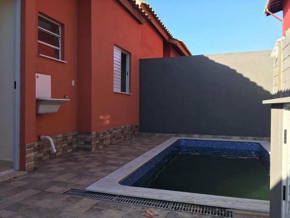 Casa Com Piscina, Aceita Financiamento, Confira Já!! - V1023