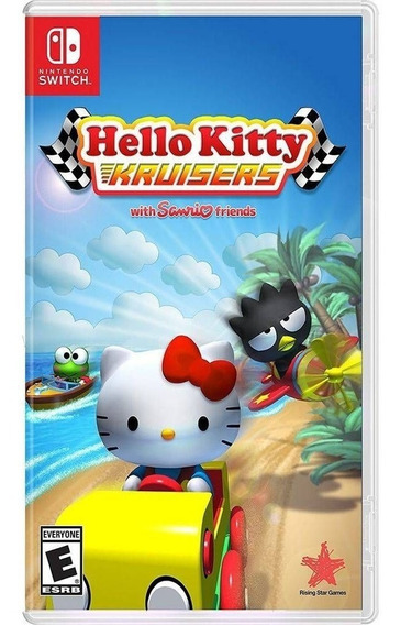Jogo Hello Kitty Kruisers (switch - Mídia Física Original)