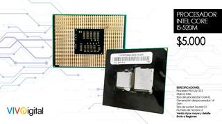 Procesador Intel Core I5-520m