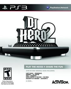 Dj Hero 2 Ps3 Americano Impecavel Jogo Apenas