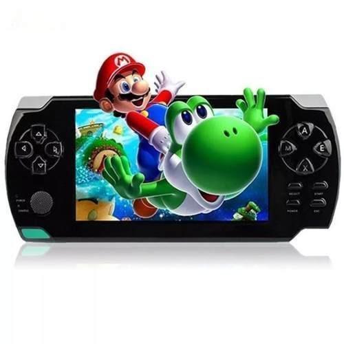 Mini Game X-tech Portátil Player Mp3 Mp4 Mp5 Preto