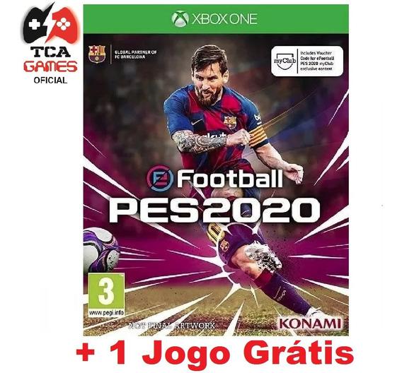 Pes 20 Xbox One Midia Digital + Brinde