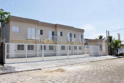 Sobrado Com 2 Dorms, Lado Praia, Gaivotas, Itanhaém - Cod: 29 - V29