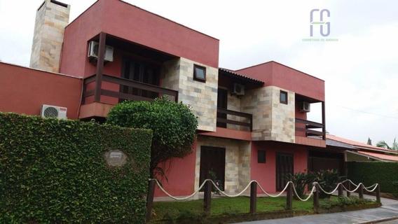 Linda Casa À Venda, Centro, Penha. - Ca0092