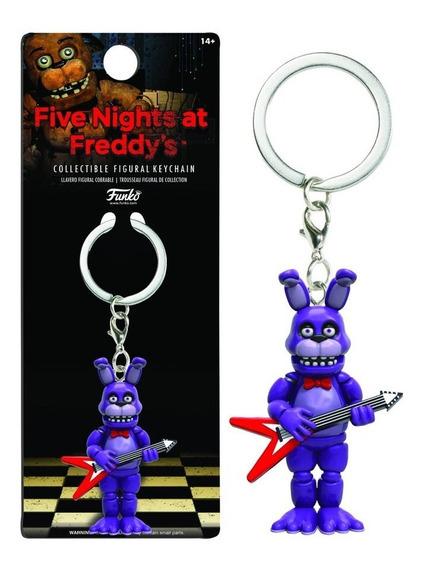 Five Nights At Freddy Chaveiro Mini Boneco Pop Funko Bonnie