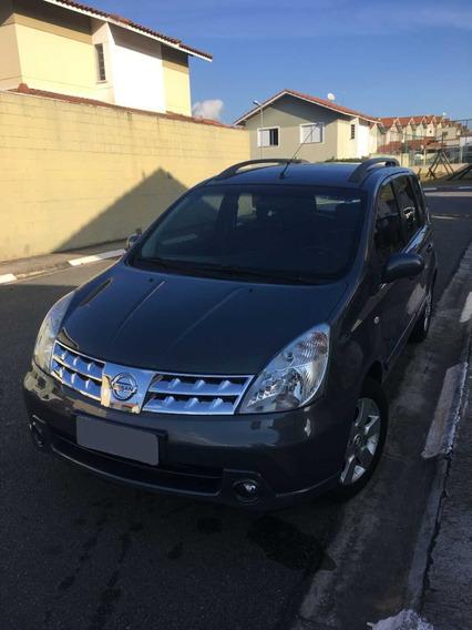 Nissan Livina 1.8 Sl 16v Flex 4p Automático Cinza Perolizado